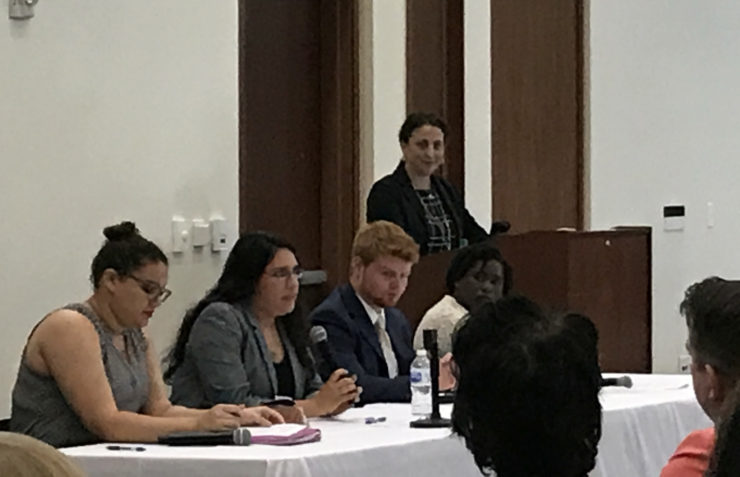 FFCR Citizen Review Panel Manager Co-Facilitates Youth SHINE Panel at Regional Child Welfare Conference