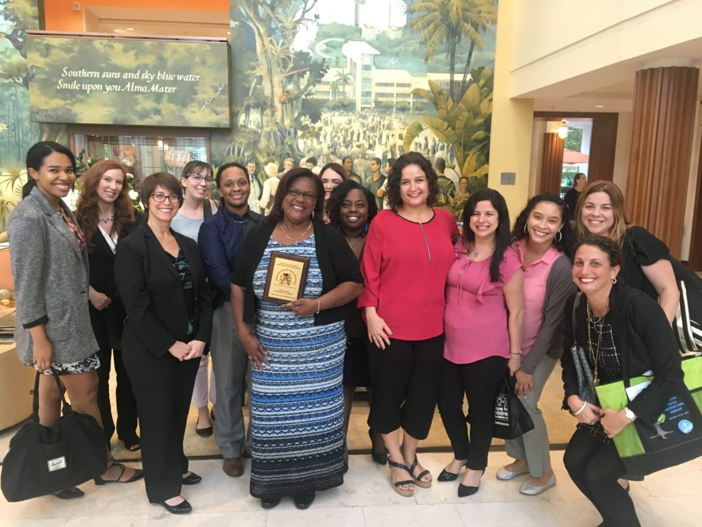 FFCR Citizen Review Panel Volunteer & Program Coordinator Receives 2017 Outstanding Child Welfare Professional Award