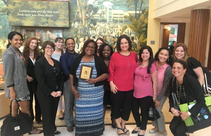 FFCR Citizen Review Panel Volunteer & Program Coordinator Receives 2017 Outstanding Child Welfare Professional Award