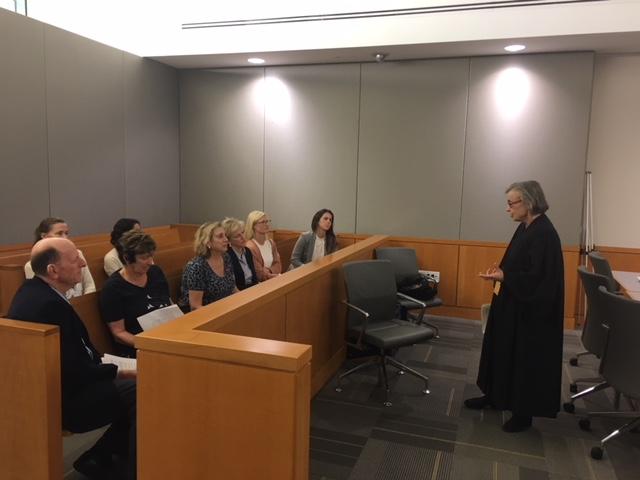 Veteran Juvenile Court Judge Tackles Tough Topics with FFCR Volunteers