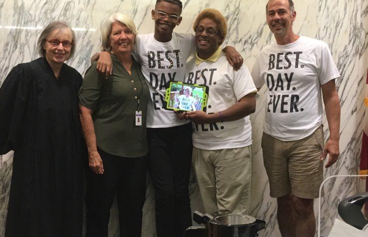 Volunteer GAL Karen Kerr Named FFCR's Child Welfare Professional of the Month