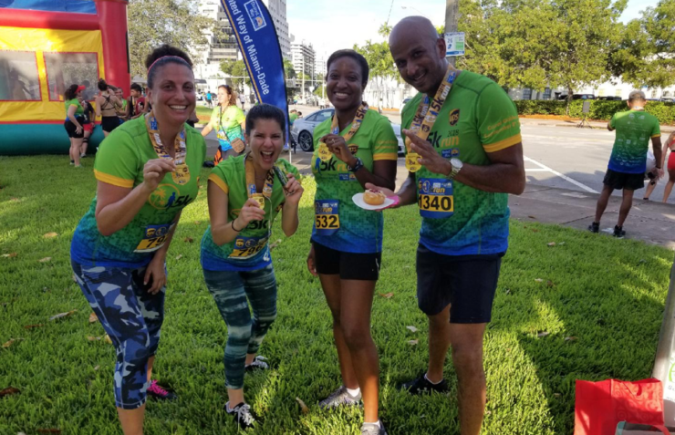 FFCR Staff & Volunteers Run to Support the United Way of Miami-Dade